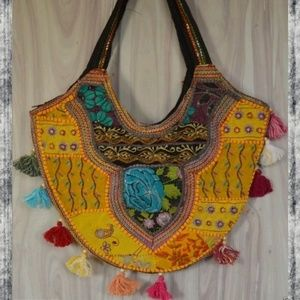 Banjara vintage repurposed Boho Hippie gypsy bag